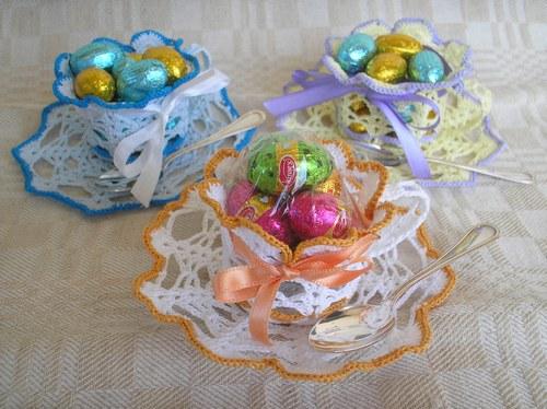 Idee Per Pasqua All Uncinetto Schemi Di Uova Rivestite A Uncinetto